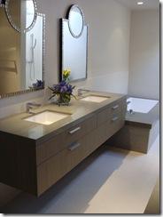 contemporary bathroom by lori sitz teacher